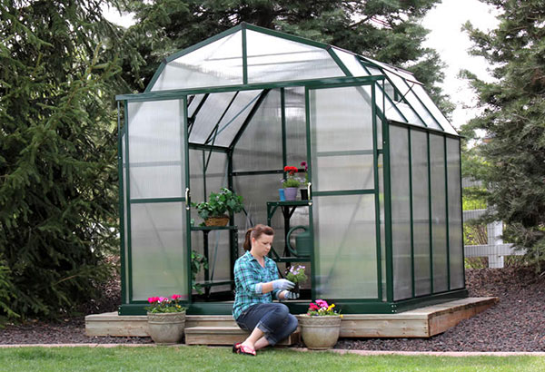 Rugged Roomy Greenhouse